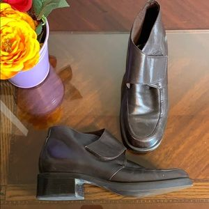Etienne Algner Leather Expedition Band Booties